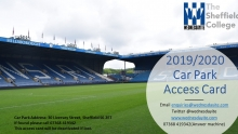 Car park permits - Now £104.50 for the  remaining games