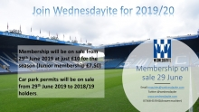 Membership and Car Park Update 20th July