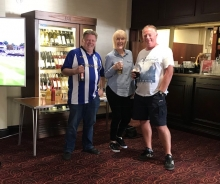 Wednesdayite Lounge - Opening times 2018/19