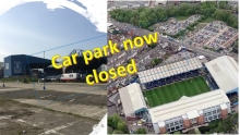 Wednesdayite Car Park - The closest match day parking - is now closed